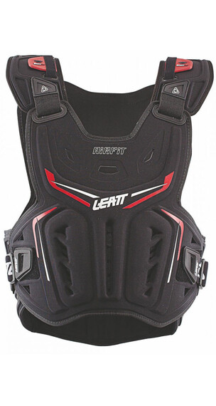 Leatt Brace 3DF Airfit Chest Protector black/red